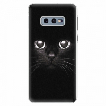 Plastový kryt iSaprio - Black Cat - Samsung Galaxy S10e
