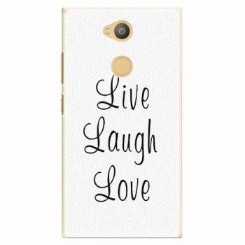 Plastový kryt iSaprio - Live Laugh Love - Sony Xperia L2