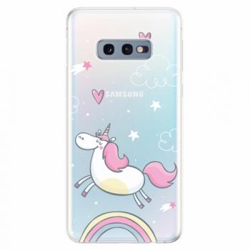 Silikonové pouzdro iSaprio - Unicorn 01 - Samsung Galaxy S10e