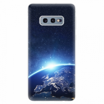 Silikonové pouzdro iSaprio - Earth at Night - Samsung Galaxy S10e