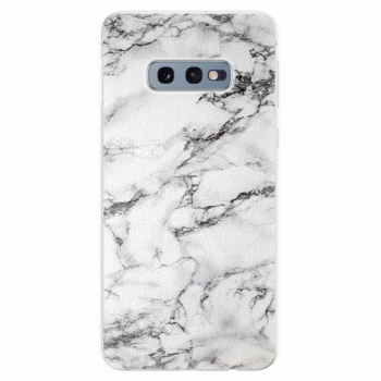 Silikonové pouzdro iSaprio - White Marble 01 - Samsung Galaxy S10e
