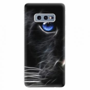 Silikonové pouzdro iSaprio - Black Puma - Samsung Galaxy S10e