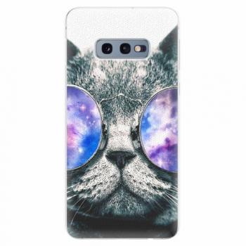 Silikonové pouzdro iSaprio - Galaxy Cat - Samsung Galaxy S10e