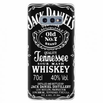 Silikonové pouzdro iSaprio - Jack Daniels - Samsung Galaxy S10e