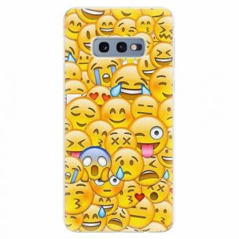 Silikonové pouzdro iSaprio - Emoji - Samsung Galaxy S10e
