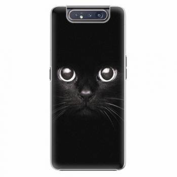 Plastový kryt iSaprio - Black Cat - Samsung Galaxy A80
