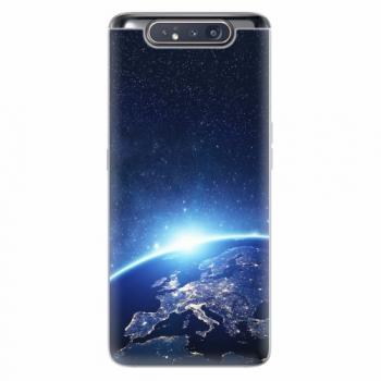 Silikonové pouzdro iSaprio - Earth at Night - Samsung Galaxy A80