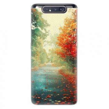 Silikonové pouzdro iSaprio - Autumn 03 - Samsung Galaxy A80
