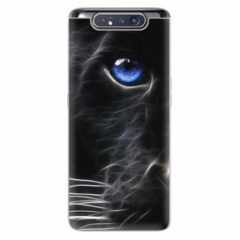 Silikonové pouzdro iSaprio - Black Puma - Samsung Galaxy A80
