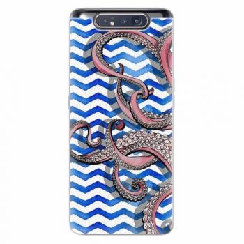 Silikonové pouzdro iSaprio - Octopus - Samsung Galaxy A80