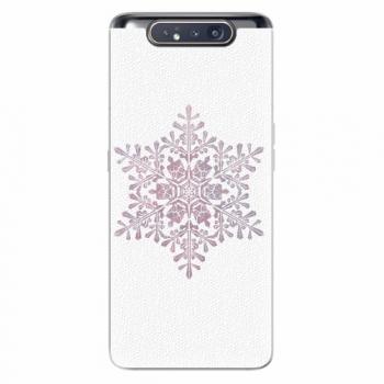 Silikonové pouzdro iSaprio - Snow Flake - Samsung Galaxy A80