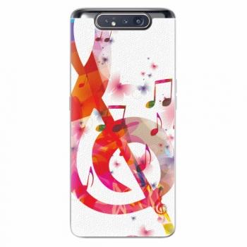 Silikonové pouzdro iSaprio - Love Music - Samsung Galaxy A80