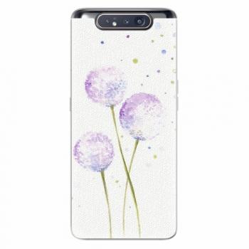 Silikonové pouzdro iSaprio - Dandelion - Samsung Galaxy A80