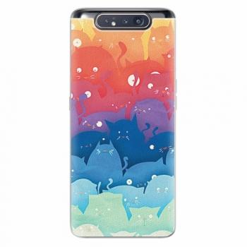 Silikonové pouzdro iSaprio - Cats World - Samsung Galaxy A80