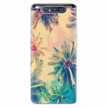 Silikonové pouzdro iSaprio - Palm Beach - Samsung Galaxy A80