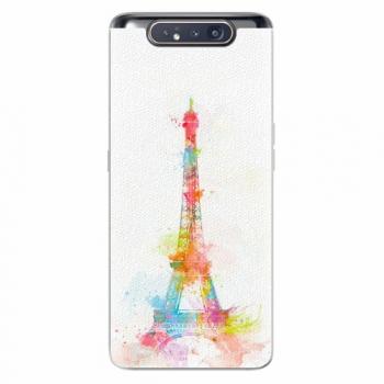 Silikonové pouzdro iSaprio - Eiffel Tower - Samsung Galaxy A80