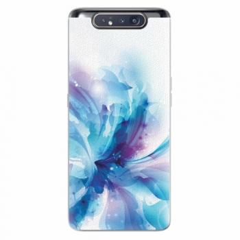 Silikonové pouzdro iSaprio - Abstract Flower - Samsung Galaxy A80
