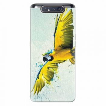 Silikonové pouzdro iSaprio - Born to Fly - Samsung Galaxy A80