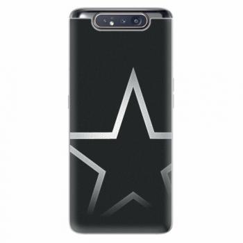 Silikonové pouzdro iSaprio - Star - Samsung Galaxy A80