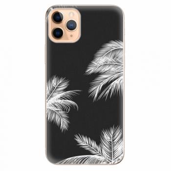 Silikonové pouzdro iSaprio - White Palm - iPhone 11 Pro Max