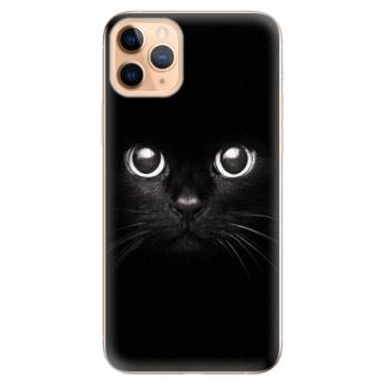 Silikonové pouzdro iSaprio - Black Cat - iPhone 11 Pro Max