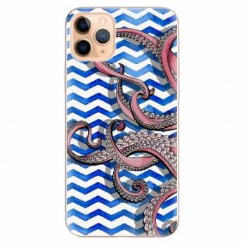 Silikonové pouzdro iSaprio - Octopus - iPhone 11 Pro Max