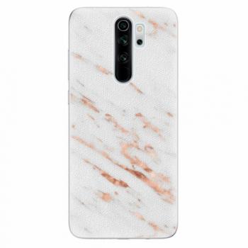 Silikonové pouzdro iSaprio - Rose Gold Marble - Xiaomi Redmi Note 8 Pro