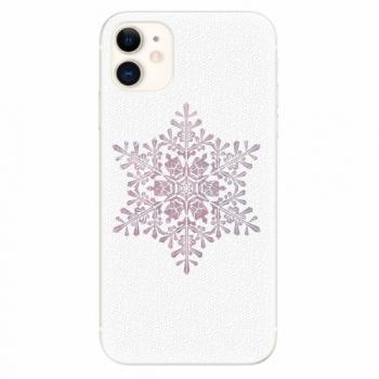 Silikonové pouzdro iSaprio - Snow Flake - iPhone 11