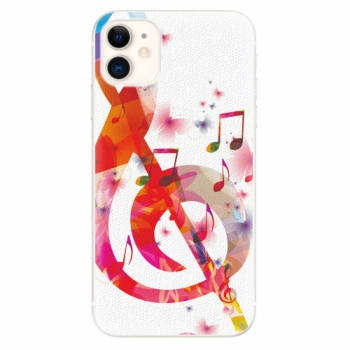 Silikonové pouzdro iSaprio - Love Music - iPhone 11