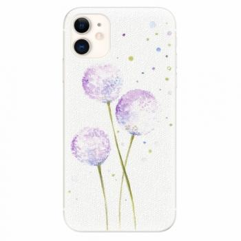 Silikonové pouzdro iSaprio - Dandelion - iPhone 11