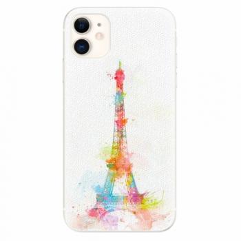 Silikonové pouzdro iSaprio - Eiffel Tower - iPhone 11