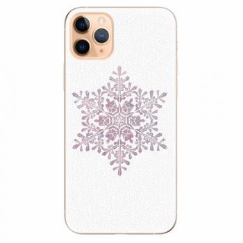 Silikonové pouzdro iSaprio - Snow Flake - iPhone 11 Pro Max