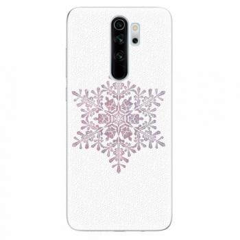 Silikonové pouzdro iSaprio - Snow Flake - Xiaomi Redmi Note 8 Pro