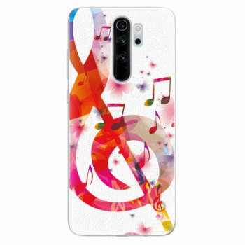 Silikonové pouzdro iSaprio - Love Music - Xiaomi Redmi Note 8 Pro