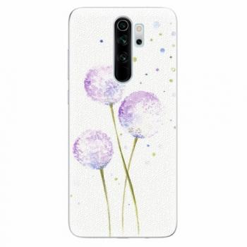 Silikonové pouzdro iSaprio - Dandelion - Xiaomi Redmi Note 8 Pro