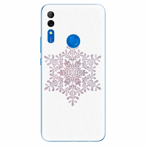 Silikonové pouzdro iSaprio - Snow Flake - Huawei P Smart Z