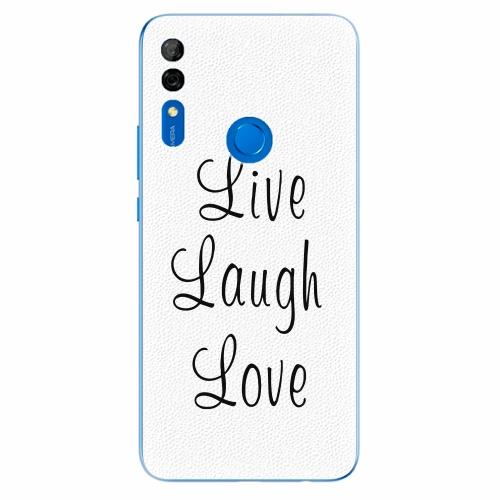 Silikonové pouzdro iSaprio - Live Laugh Love - Huawei P Smart Z