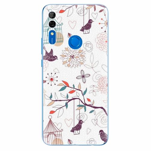 Silikonové pouzdro iSaprio - Birds - Huawei P Smart Z