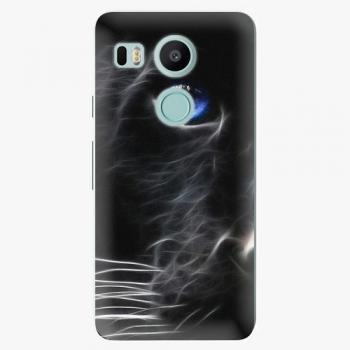 Plastový kryt iSaprio - Black Puma - LG Nexus 5X