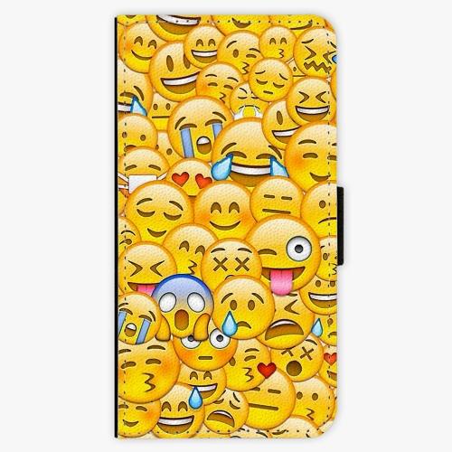 Flipové pouzdro iSaprio - Emoji - iPhone 5/5S/SE