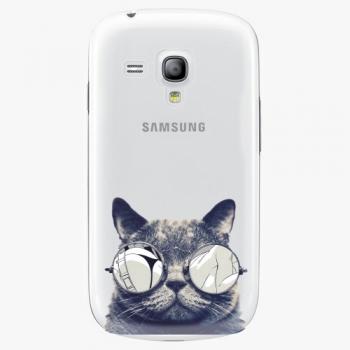 Plastový kryt iSaprio - Crazy Cat 01 - Samsung Galaxy S3 Mini