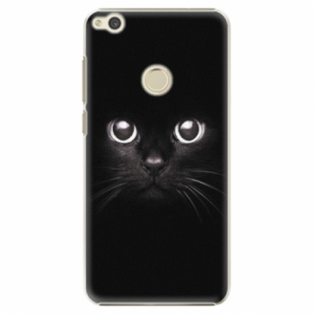 Plastové pouzdro iSaprio - Black Cat - Huawei P9 Lite 2017