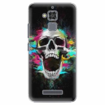 Plastové pouzdro iSaprio - Skull in Colors - Asus ZenFone 3 Max ZC520TL