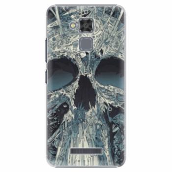 Plastové pouzdro iSaprio - Abstract Skull - Asus ZenFone 3 Max ZC520TL
