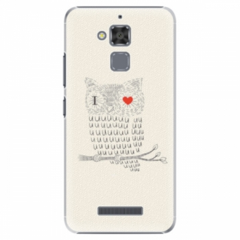 Plastové pouzdro iSaprio - I Love You 01 - Asus ZenFone 3 Max ZC520TL