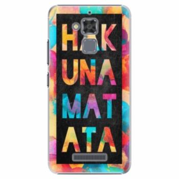 Plastové pouzdro iSaprio - Hakuna Matata 01 - Asus ZenFone 3 Max ZC520TL