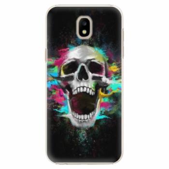 Plastové pouzdro iSaprio - Skull in Colors - Samsung Galaxy J5 2017