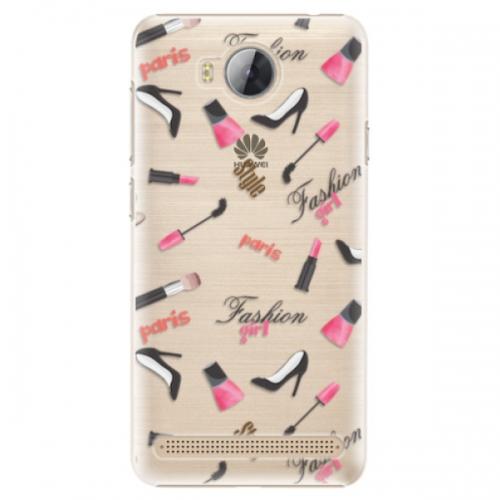 Plastové pouzdro iSaprio - Fashion pattern 01 - Huawei Y3 II