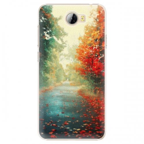 Plastové pouzdro iSaprio - Autumn 03 - Huawei Y5 II / Y6 II Compact