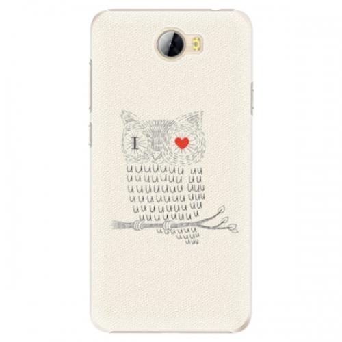 Plastové pouzdro iSaprio - I Love You 01 - Huawei Y5 II / Y6 II Compact